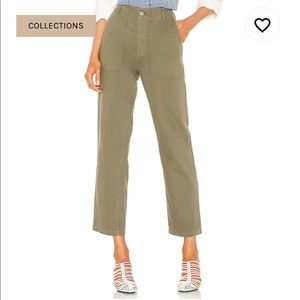 Re/done Originals 50s Military Trouser in Olive